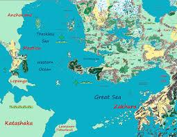 Map Of Faerun The Forgotten Realms By Markustay On Deviantart