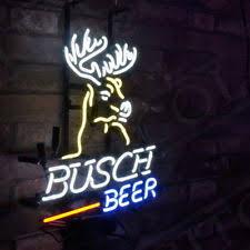 busch light neon sign busch light beer sign ebay