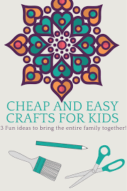 3 cheap and easy crafts for kids fluster buster