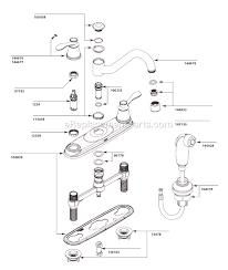 Moen Kitchen Faucet Parts Diagram Moen Ca87629 Parts List And Diagram Ereplacementparts Com