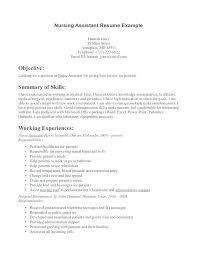 resume job description cna resume for cna position u2013 foodcity me