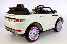 matte white range rover range rover style 12v kids ride on car mp3 4 battery powered led