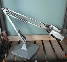 antiques atlas vintage magnifier anglepoise lamp