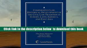 lexisnexis yellow tax handbook read online comparative law historical development of the civil