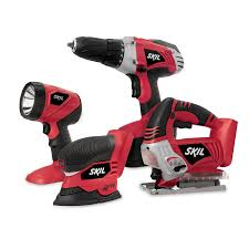 a gift for him and for you skil 18v 4 tool combo kit