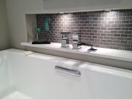 tub filler in wall niche design ideas terry love plumbing