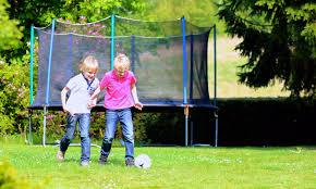 Kids Playing Backyard Football Safety Tips For Kids Walking To