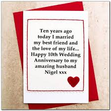 year wedding anniversary ideas 10 year wedding anniversary ideas for husband wedding
