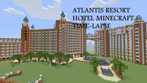 atlantis resort hotel bahamas minecraft time lapse part 5