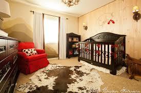 Custom Boy Crib Bedding Western Boy S Nursery By Crown Interiors Featuring Custom