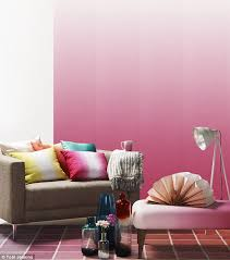 Pink Ombre Rug Lifestyle Game Of Tones Daily Mail Online