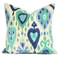 richloom ikat django ikat pillow cover cushion decorative throw
