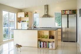 crisp simple and modern plywood kitchen oiled birch plywood and
