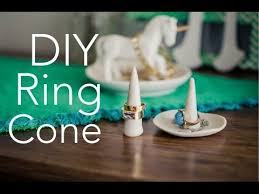 urban rabbit ring holder images Diy ring cone dish quick cheap easy diy jpg