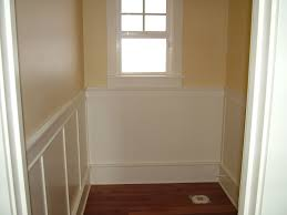 wainscoting height white u2014 decor trends the memorable