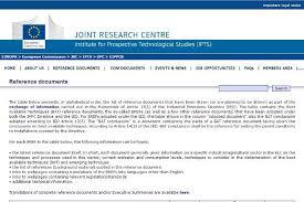 European Ippc Bureau European Commission The European Integrated Pollution Prevention And Bureau
