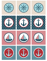 Nautical Theme Babyshower - nautical baby shower printables my sister u0027s suitcase packed