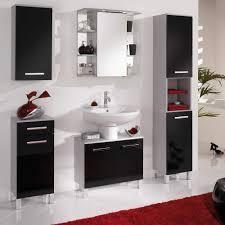 design waschbeckenunterschrank design waschbeckenunterschrank in hochglanz schwarz palermo