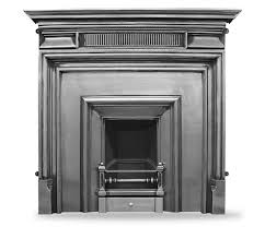 Cast Iron Fireplace Insert by The Royal U0027 Narrow Full Polish Cast Iron Fireplace Insert Warwick