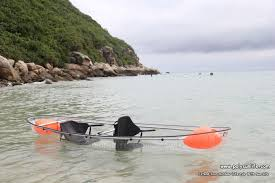 2017 sun life transparent kayak clear canoes with oars paddles