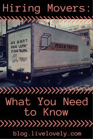 Hiring Movers Hiring Professional Movers What You Need To Know Lovely Blog