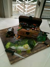fishing grooms cake ideas 72872 grooms cake bass fish and