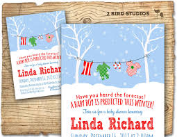 winter baby shower invitation winter baby shower boy