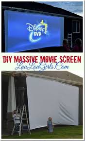 diy massive movie screen instructions movies screens and diy