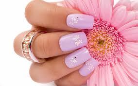 nails designs light pink