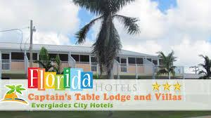 captain s table myrtle beach captain s table lodge and villas everglades city hotels florida