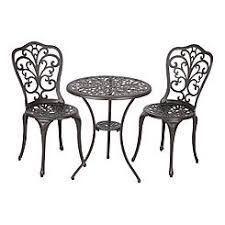 Wicker Bistro Table And Chairs Outdoor Bistro Sets Small Balcony Furniture Kmart