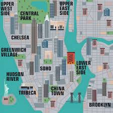map ny city new interactive map lets you explore thousands of new york city