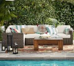 outdoor lounge furniture u0026 patio furniture sets pottery barn
