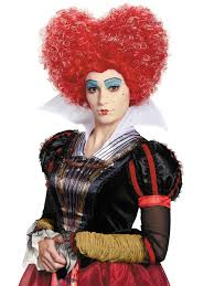 Wilfred Costume Red Queen Wig Alice In Wonderland Wigs U0026 Accessories
