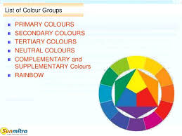 list of colours complementary colors list list of colour groups primary colours