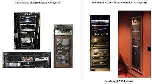 Audio Video Equipment Racks Custom Av Racks Custom Automated Middleatlantic Av Rack You