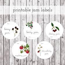 some of the best free kitchen label printables jam label jam