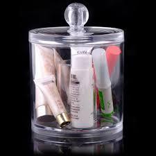 click to buy u003c u003c acrylic round makeup cotton pad organizer