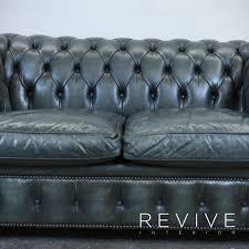 original chesterfield sofas original chesterfield leder sofa grün zweisitzer couch vintage