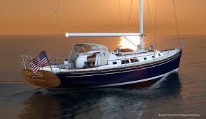 robert h perry yacht designers inc