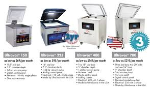ultrasource ultravac vacuum packaging machine promotions as low