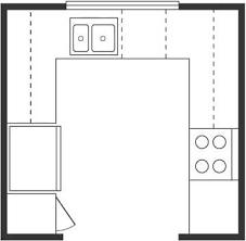 u shaped kitchen floor plan home interior design kitchen room kitchen floor plans island