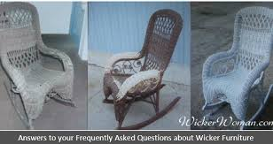 antique wicker furniture 101 history repair tips