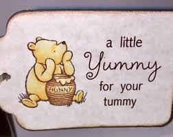 winnie pooh baby shower bookmark favors birthday party