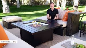 Propane Firepit Napoleon Square Propane Pit Table Product Review
