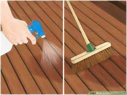 Wood Stains Deck Stains Finishes From World Of Stains by How To Clean A Trex Deck 10 Steps With Pictures Wikihow