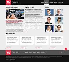 website design 50750 tv channel television custom website design