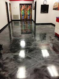 painting concrete floor with self leveling epoxy coating future