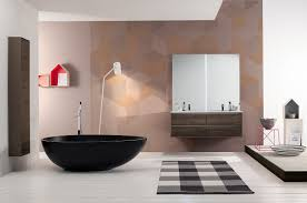 modern bathroom idea black bathtubs for modern bathroom ideas with freestanding