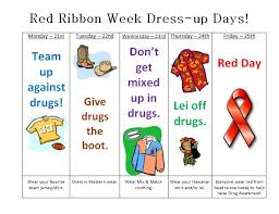 ranchview high red ribbon week activities red ribbon